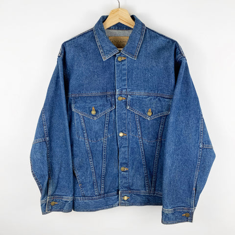 Vintage 90s Anzani Dakota Cigarette Jean Denim Jacket