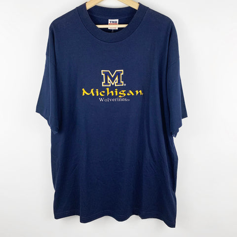 Vintage University of Michigan Wolverines Embroidered Shirt