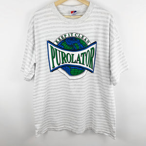 Vintage 'Keep it Clean' Purolator Earth Graphic Shirt