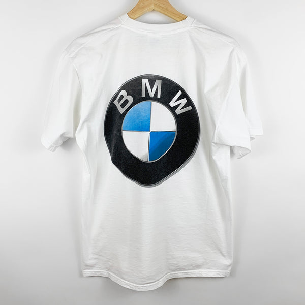 Vintage 'Get in the Game' BMW Tennis Graphic Shirt