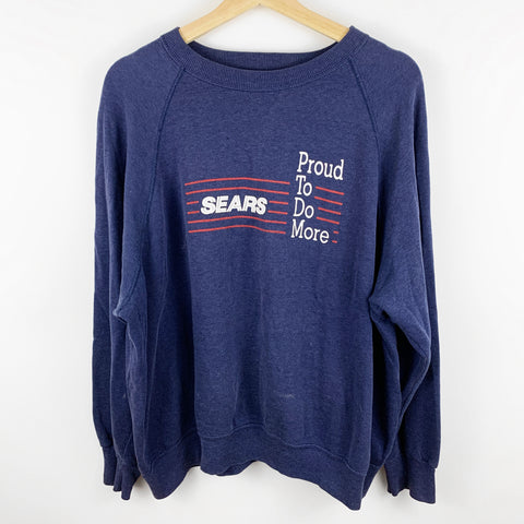 Vintage 90s Sears Department Store 'Proud to Do More' Graphic Sweatshirt