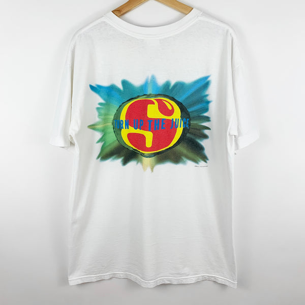 Vintage 90s Starburst Candy Promotional Graphic Shirt