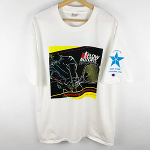 Vintage 90s Flow Motors Invitational 12th Annual World Class Professional Tennis Graphic Shirt