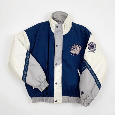 Vintage 90s Pro Player Georgetown University College Jacket