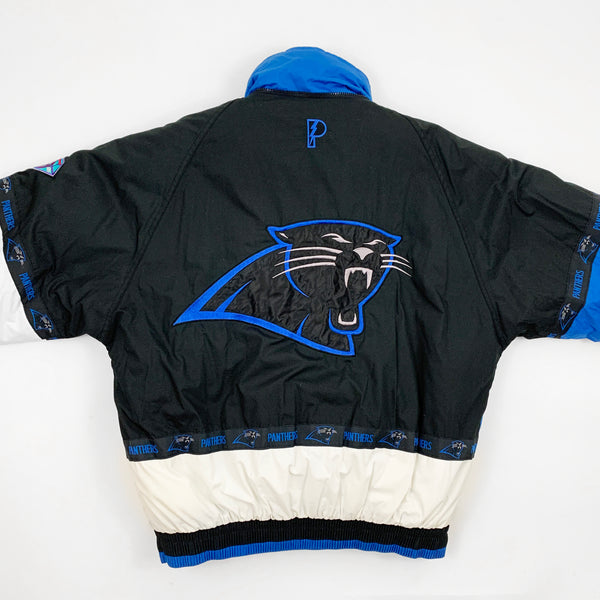 Vintage 90s Pro Player Carolina Panthers NFL Football Jacket