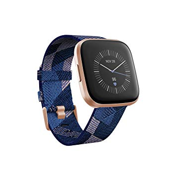 Fitbit Versa 2 Health & Fitness Smartwatch with Heart Rate, Music, Alexa Built-in, Sleep & Swim Tracking