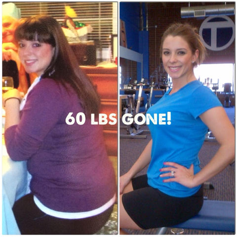weight loss tranformation