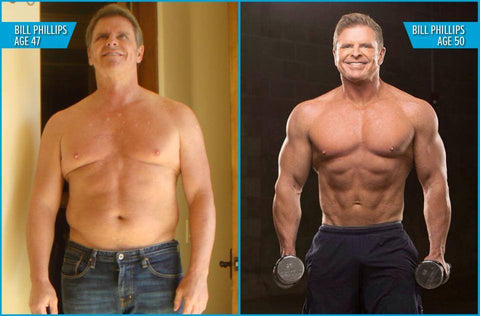 Bill Phillips before to after transformation
