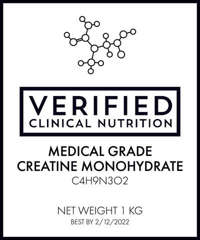 Creatine Monohydrate - Clinical Use Medical Grade