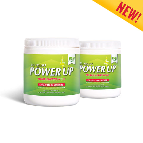 2 Bottles PowerUP Pre-Workout