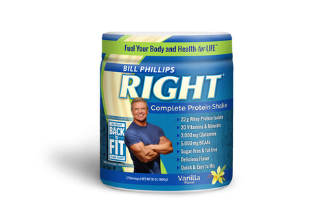 1 Container RIGHT Complete Nutrition Shake <br>(12 Servings Per Container)