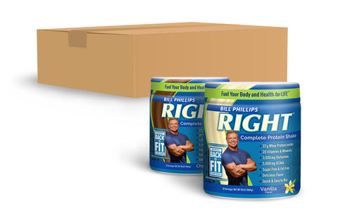 1 Case (12 Containers) <br>RIGHT Complete Nutrition Shake