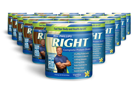 20 Containers RIGHT Complete Nutrition Shake <br>(12 Servings Per Container)