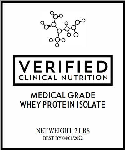 Whey Protein Isolate - Clinical Use Medical Grade