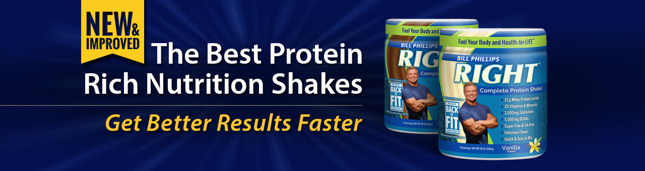 Right protein shake by Bill Phillips