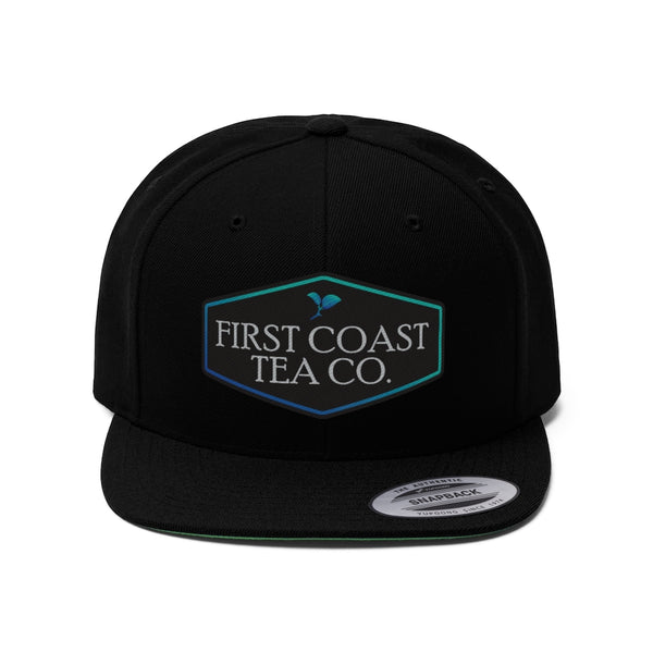 First Coast Tea Co. Unisex Flat Bill Hat