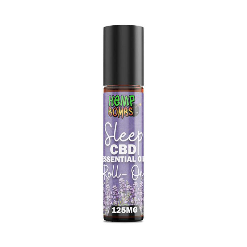 Hemp Bombs CBD Essential Oil Roll-On - Sleep Blend
