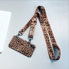 iPhone Luxury Leopard Case with shoulder strap
