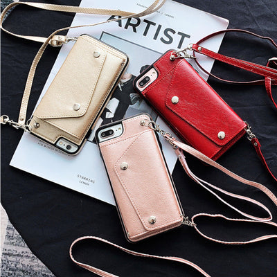 Samsung Wallet Phone Case with Strap