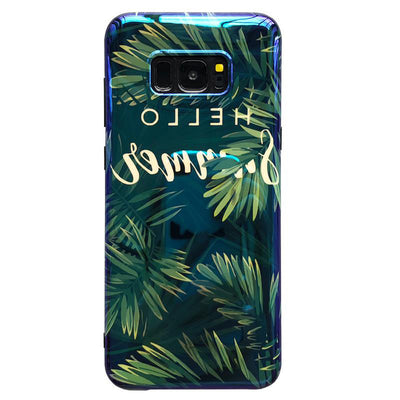 Samsung Tropical Phone Case with Strap