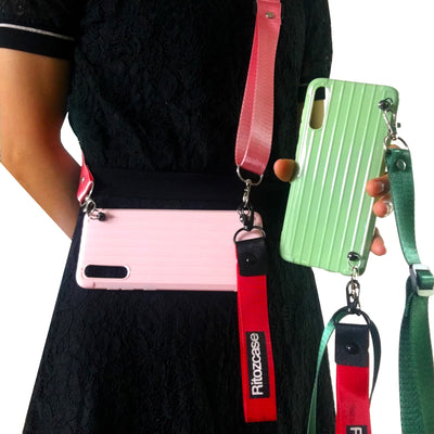 Samsung Matte Phone Case with Strap