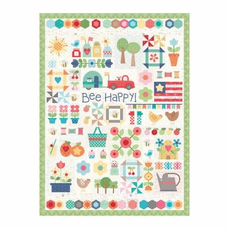 Bee Happy Quilt Puzzle
