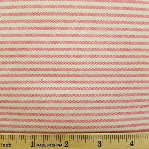 Comfy Flannel 19 1 - Pink & White Stripe