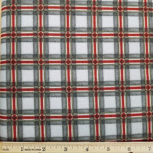 Cozy Cabin Plaid 9355 k