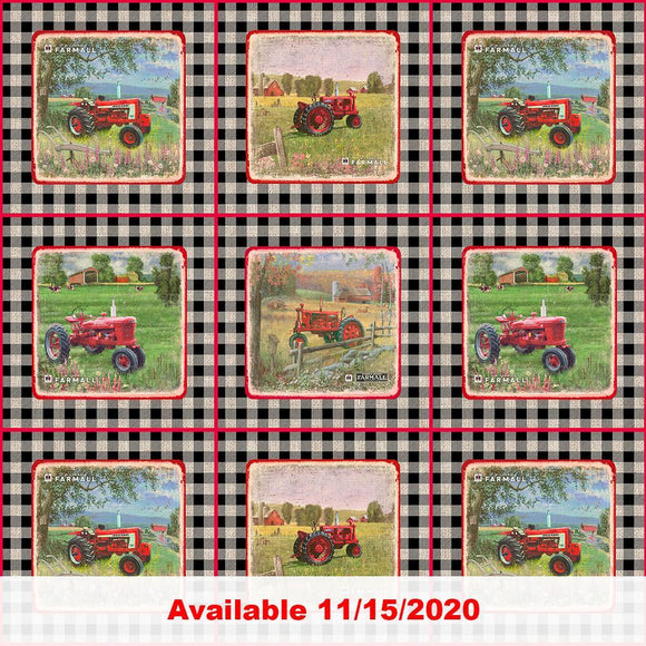 Farmall Gingham Patch