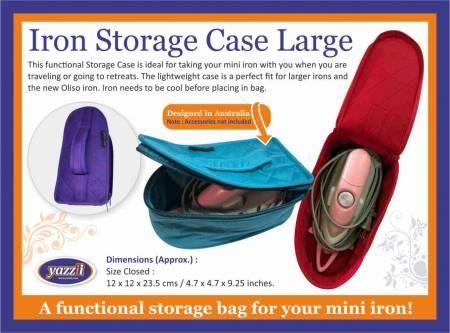 Iron Storage Case Large Purple