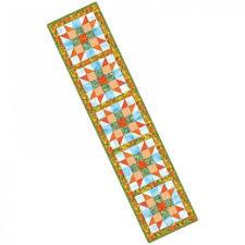 Precut Star Table Runner -Autumn Colours