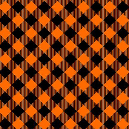 Priscilla's Pretty Plaids, Orange