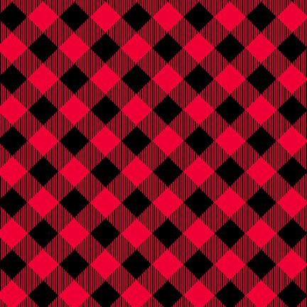 Priscilla's Pretty Plaids, Red