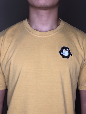 Penguyen with Knife Embroidery Tee - Penguyen