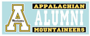 Appalachian State Alumni Decal