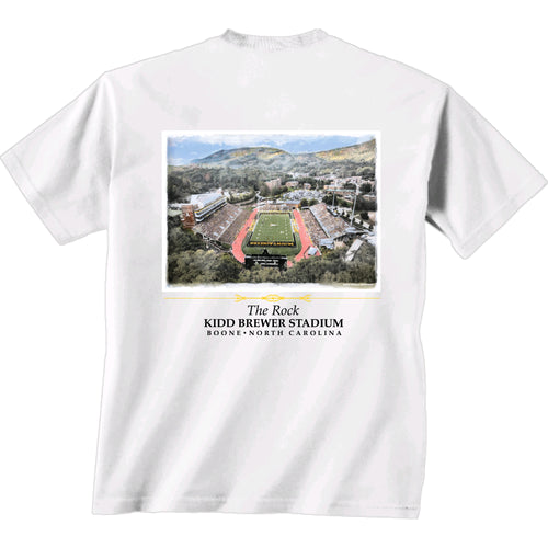 Appalachian State Kidd Brewer Stadium Shirt- Short Sleeve