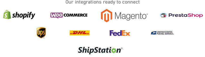 Integrations with Shopify and others...