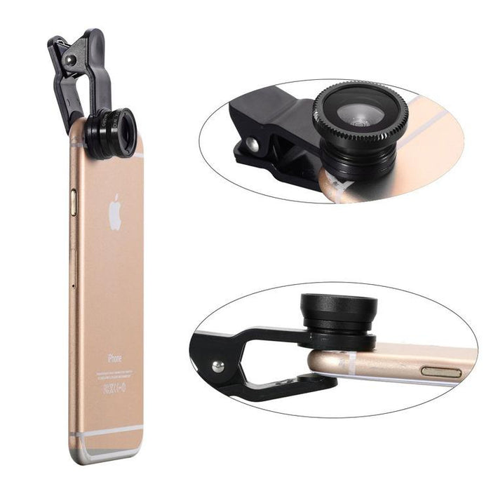 10 In 1 Smartphone Lens And Photography Selfie Bundle