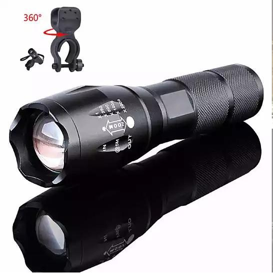 Zoom In A Flash Your Big Flash Light In Small Footprint + Bonus Bike Mount Free