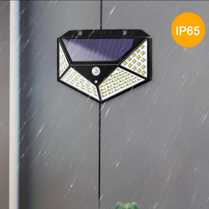 Outdoor Solar 100 LED Motion Sensor Light
