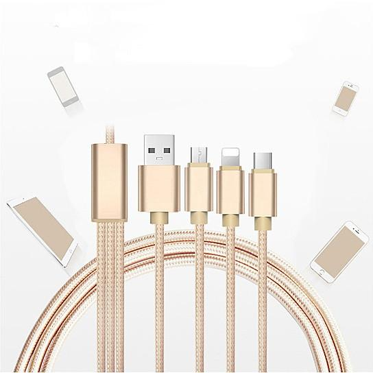 Multi-Phone 3-in-1 Master Charging Cable