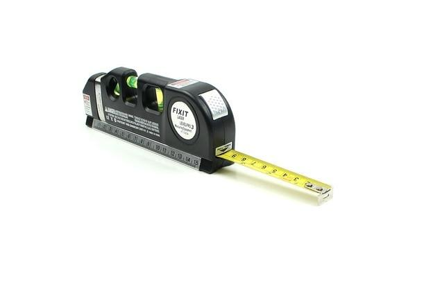 Handy Laser Level and Measuring Tape