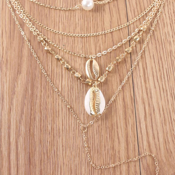 Island Girl Multi Layer Necklace