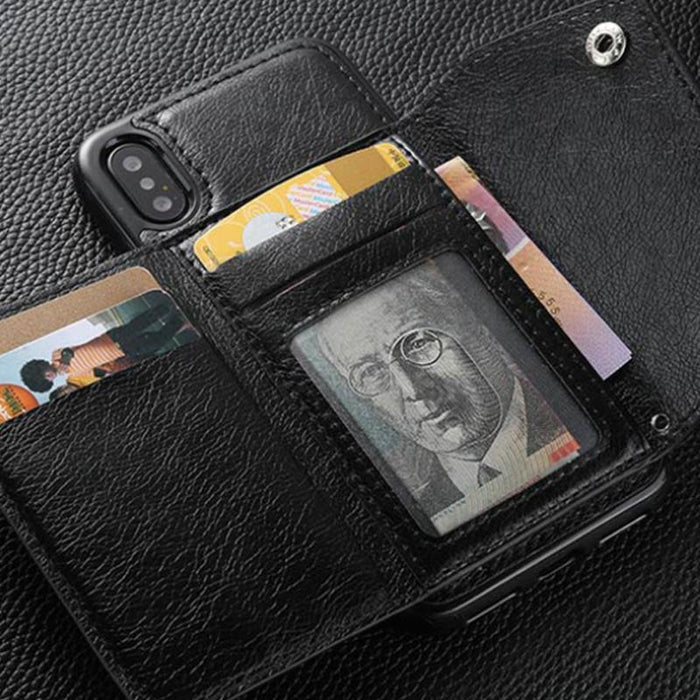 Minimal Case with Wallet for Apple Phones