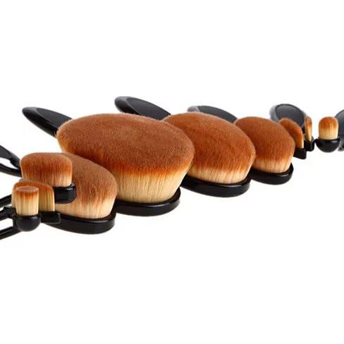 BEAUTY EXPERTS Set of 10 Beauty Brushes - VistaShops - 3