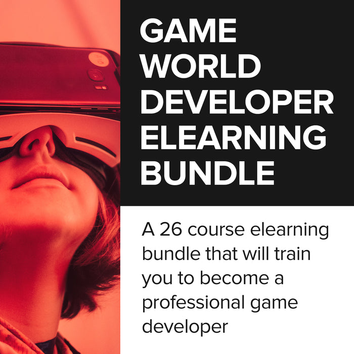 Game World Developer eLearning Bundle