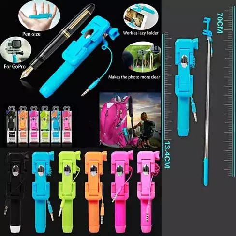 Candy Bar Selfie Stick World's Smallest And Guaranteed To Fit In Your Pocket - VistaShops - 3