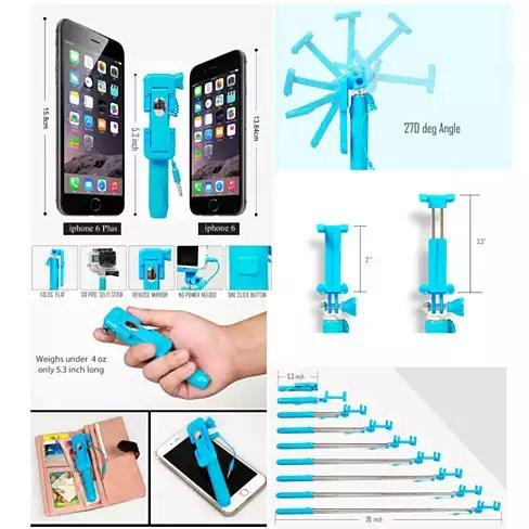 Candy Bar Selfie Stick World's Smallest And Guaranteed To Fit In Your Pocket - VistaShops - 4