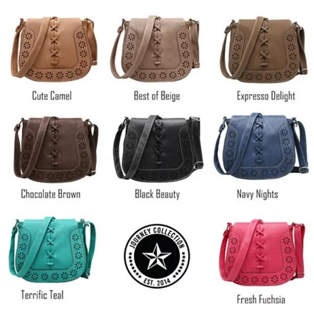 Daisy Dots Follow The Sun Handbags In 8 Colors - VistaShops - 2