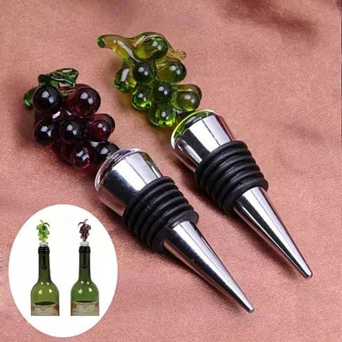 Hearty Wines Pair Of Wine Stoppers For Wine Lovers - VistaShops - 2